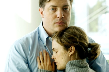 Brendan Fraser and Keri Russell in Extraordinary Measures, in theaters January 22