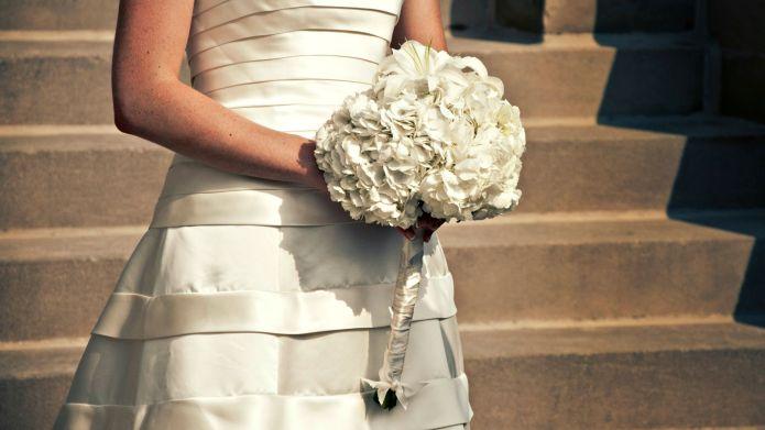Gay couple have 10 'brides' at