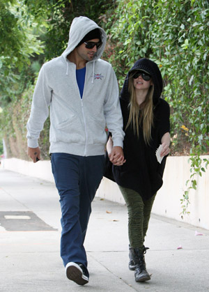 Brody Jenner and Avril Lavigne spotted together