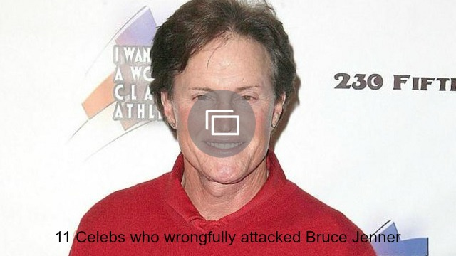 Bruce Jenner attacked slideshow
