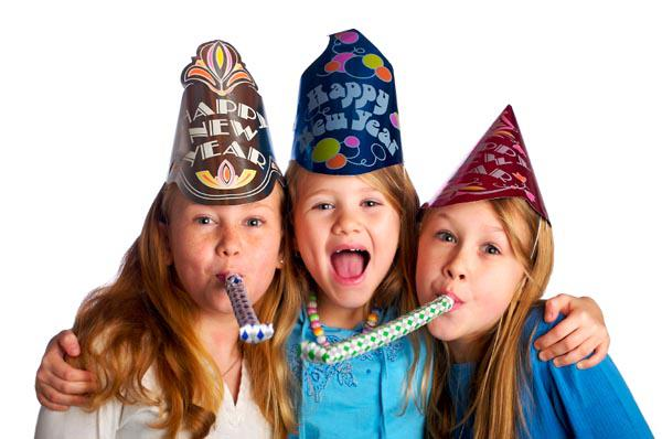 New Year's Eve party for kids