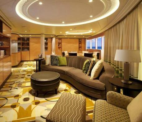 Checking In: Cruise ship suites
