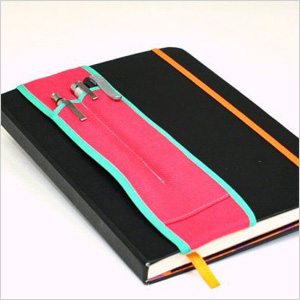 Bundle and Stow notebook pencil holder