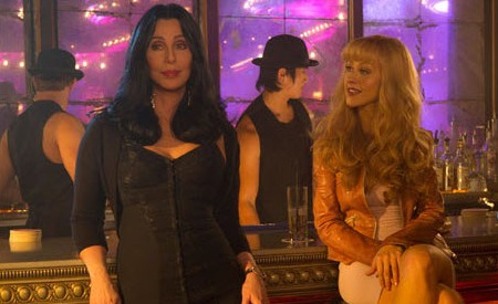 Cher and Christina Aguilera in Burlesque