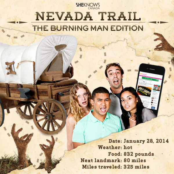 Nevada Trail: The Burning Man Edition by SheKnows