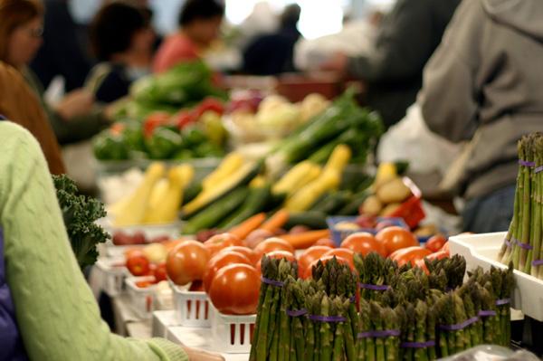 Busy Farmer's Market