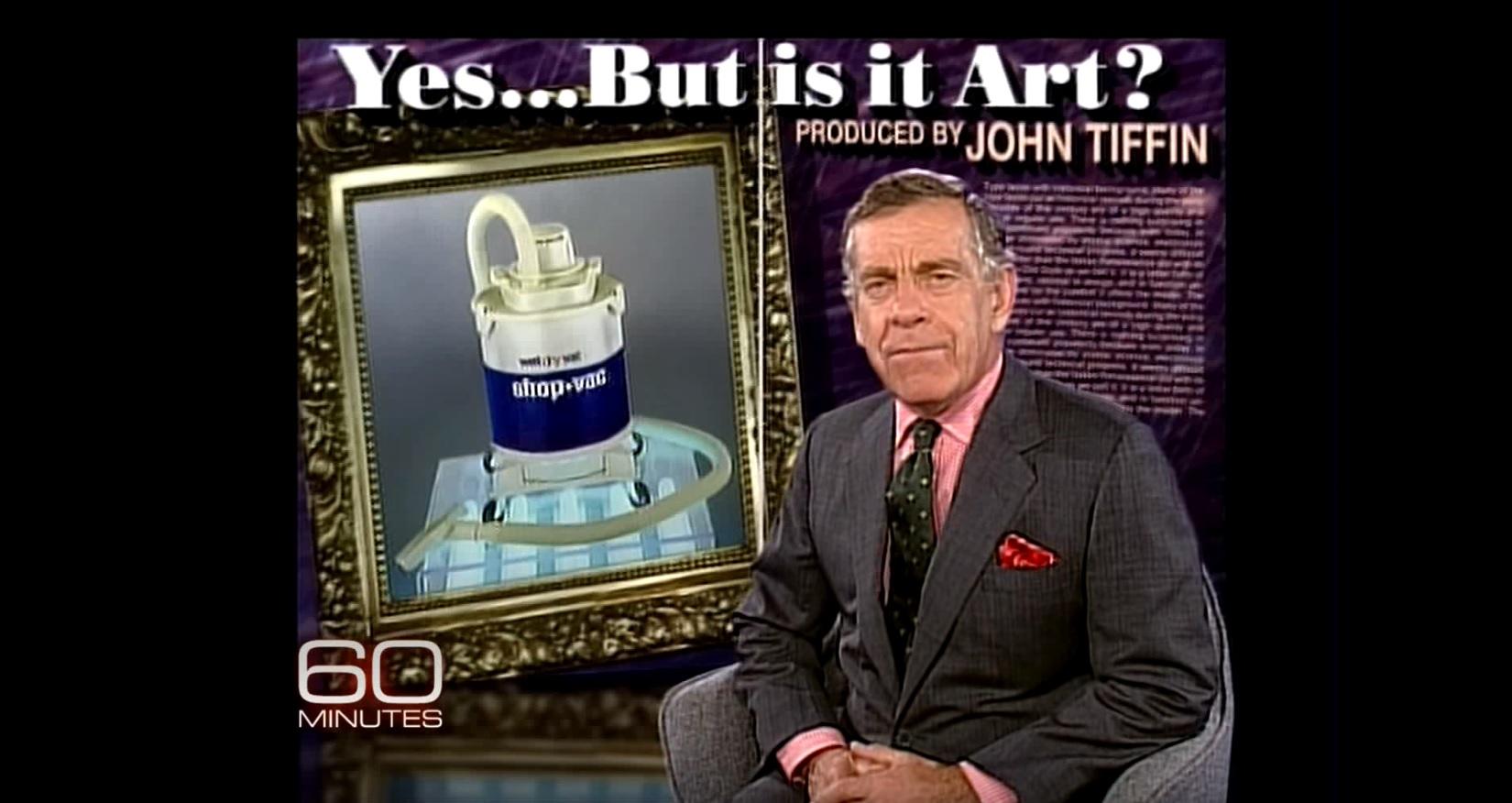 Morley Safer asks what is art