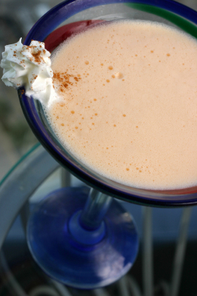 Butterscotch Cinnamon Apple Pie Martini
