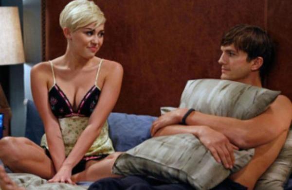 Miley Cyrus beds Ashton Kutcher?