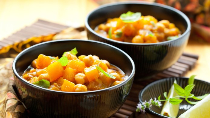 A spicy and sweet fall dish: