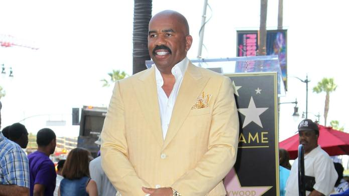 Steve Harvey Tries to Cry His
