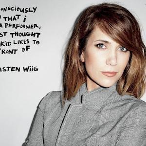 Kristen Wiig says comedy wasn't her