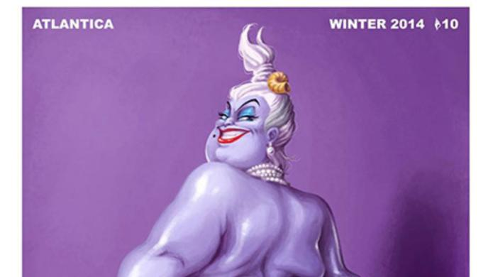 Disney's Ursula just did a #breaktheinternet