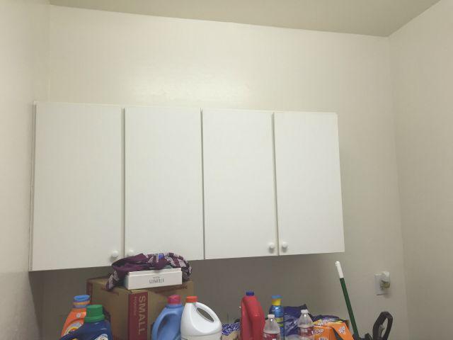 Laundry room renovation - before