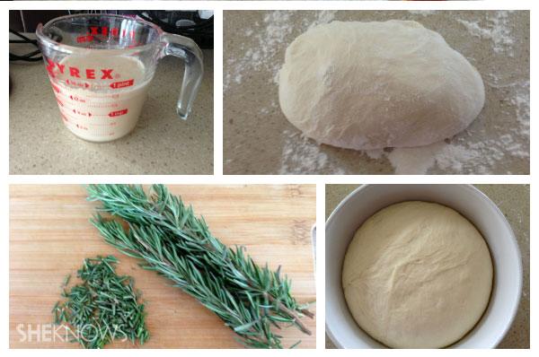 Making the flatbread | Sheknows.ca