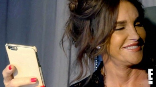 Caitlyn Jenner chats with friends on I am Cait