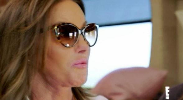 Caitlyn Jenner shares her views with her new friends