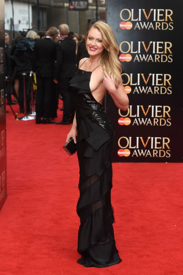 Camilla Kerslake at Olivier Awards