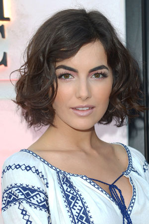 Camilla Belle's new hairstyle
