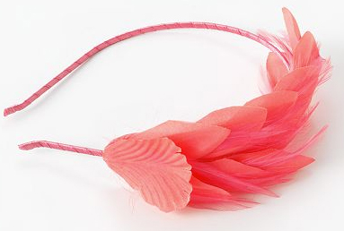 Candie's feather headband