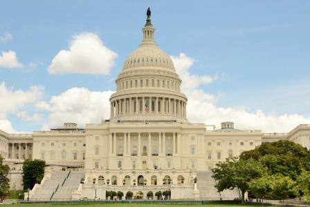 U.S. Capitol Building - Government Shutdown