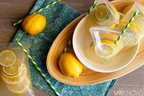 Adult vodka lemonade capri suns