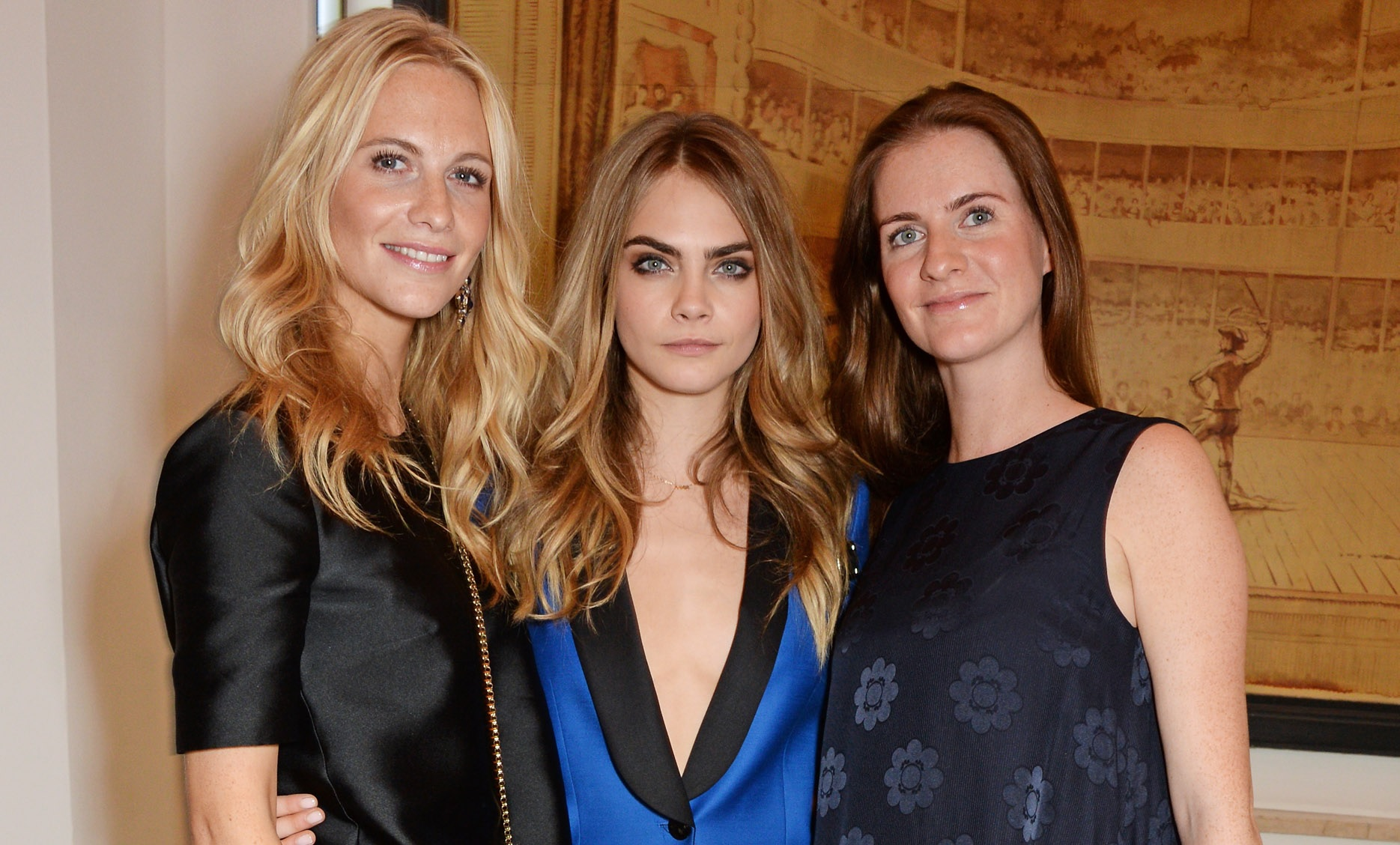 Cara Delevingne and sisters
