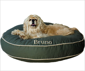 Personalized dog bed