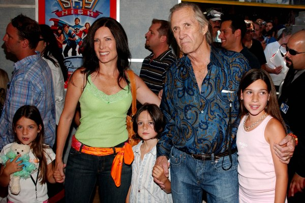 David Carradine and his family at the Sky High premiere