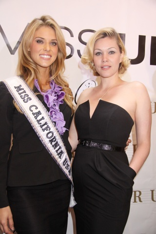 Carrie Prejean and Shanna Moakler in happier times