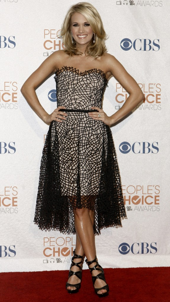 carrie underwood people's choice awards