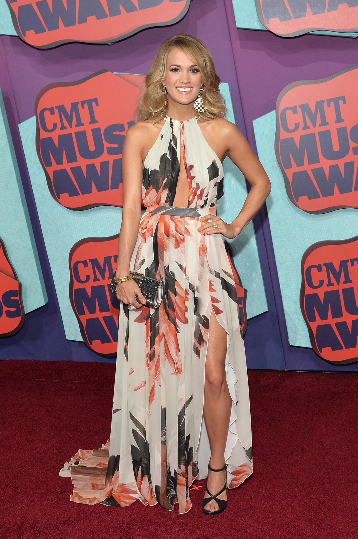 Carrie Underwoodat the the 2014 CMT Music Awards