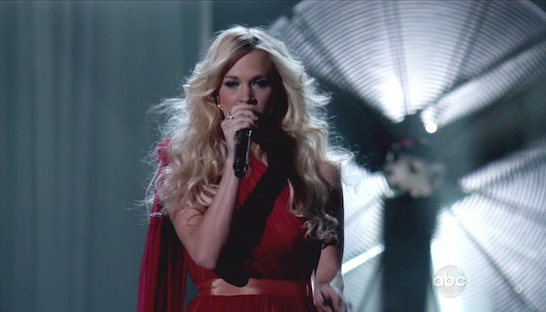 Carrie Underwood Performing Live
