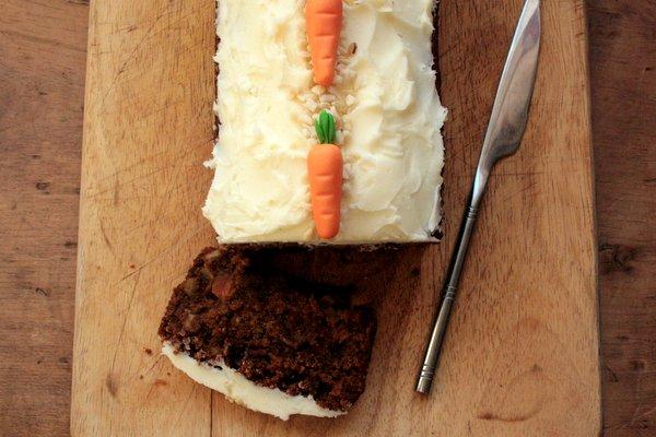 gluten-free carrot cake