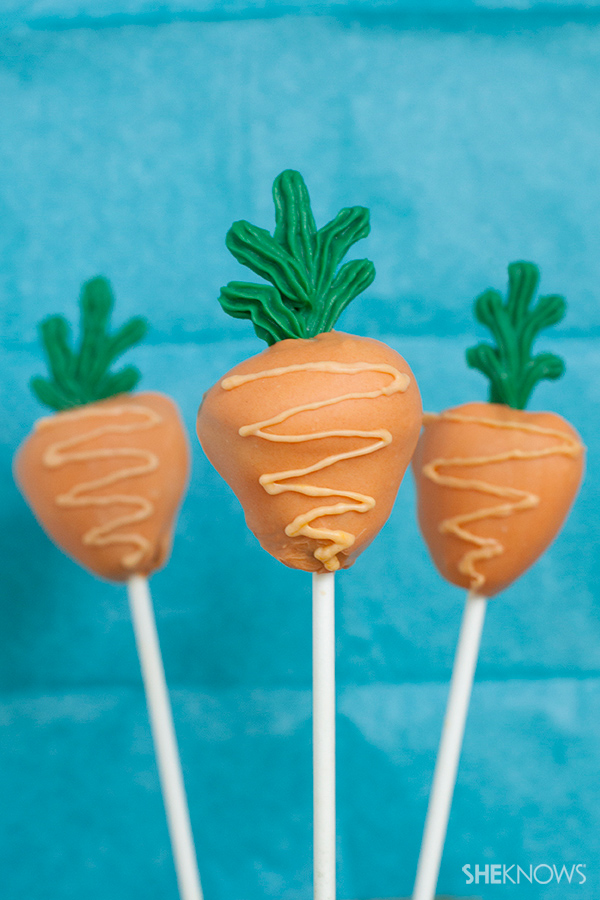 Carroty cake pops