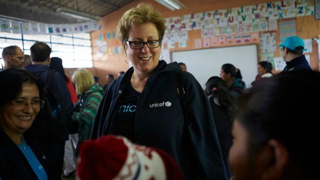 UNICEF Caryl Stern