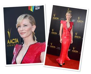 Cate Blanchett's glowing makeup look