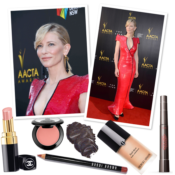 Cate Blanchett's glowing makeup look   SheKnows.com