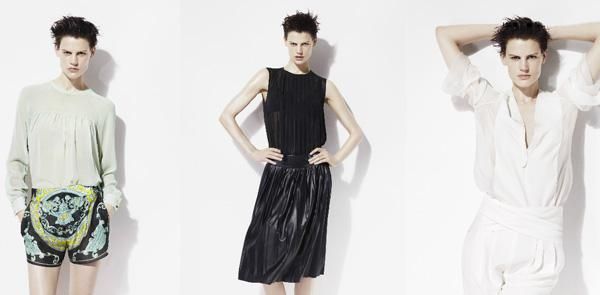 Zara's 2012 spring campaign is crystal