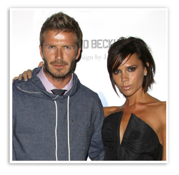 David Beckham, married to Victoria Beckham for 12 years