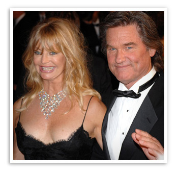 Goldie Hawn, committed to Kurt Russell for 27 years