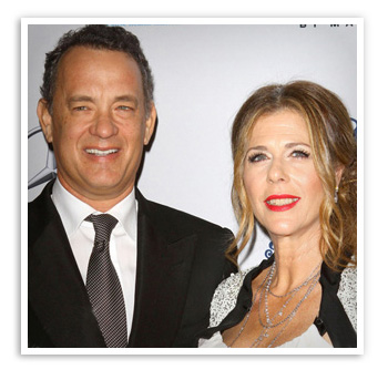 Rita Wilson, married to Tom Hanks for 23 years
