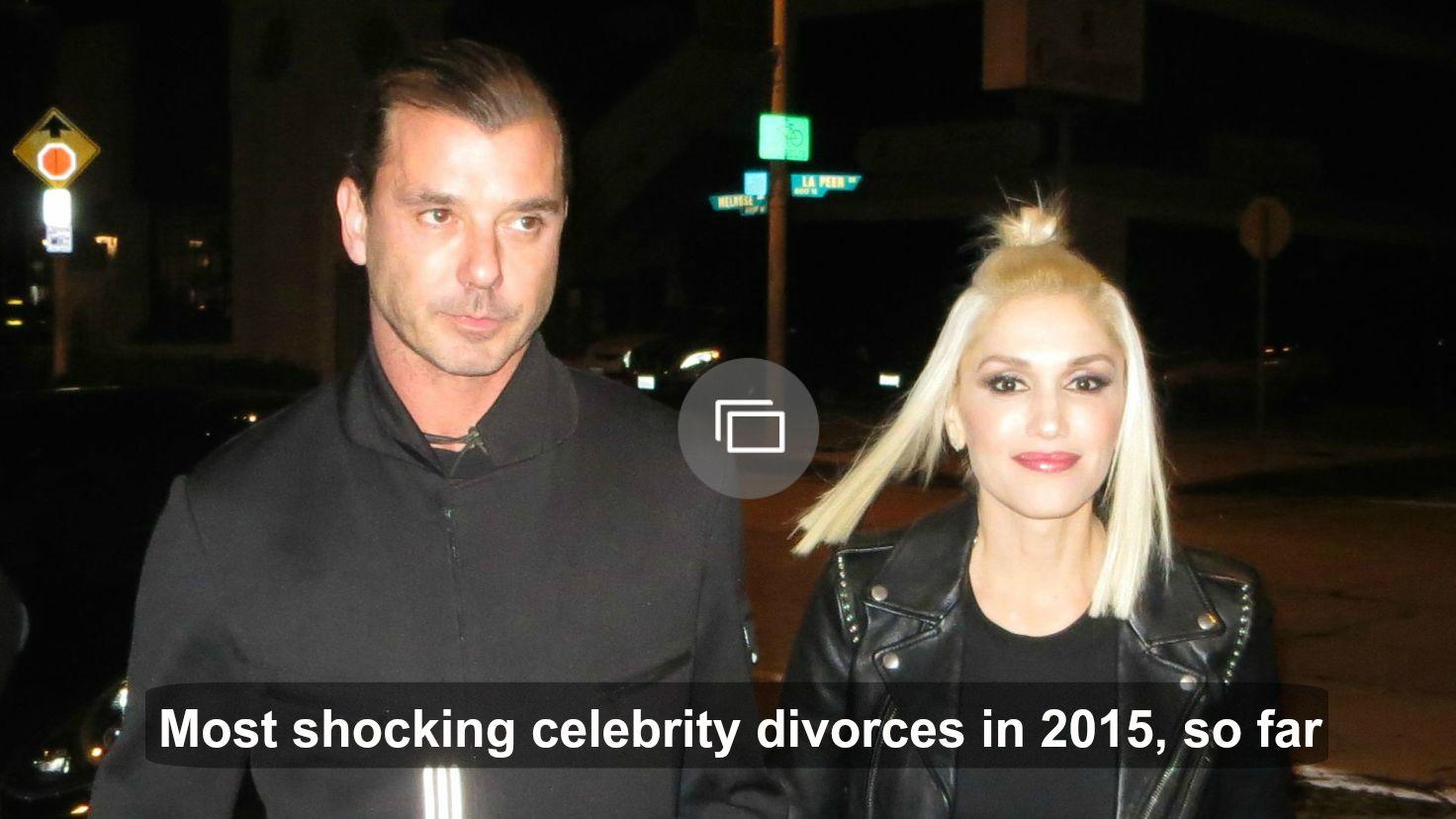 Celebrity divorces in 2015