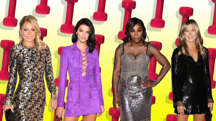 Kelly Ripa, Kendall Jenner, Serena Williams,