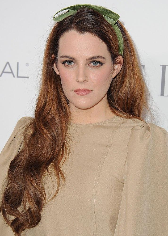 Celebs in Hair Ribbons: Riley Keough