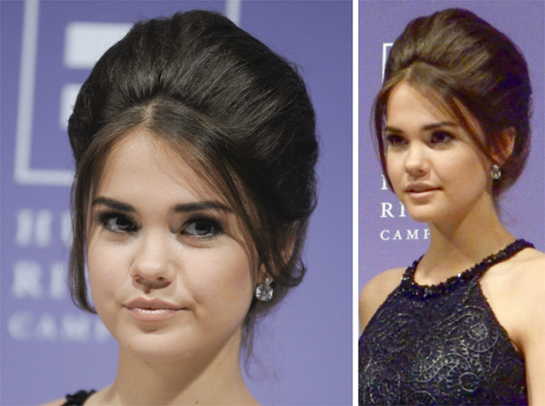 Celeb Hairstyle of the Week: Maia Mitchell