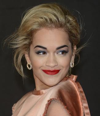 Rita Ora at the 2013 Brit Awards