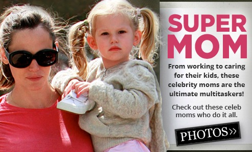 Celeb moms banner