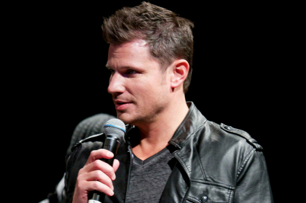 Nick Lachey in concert for 98 Degrees