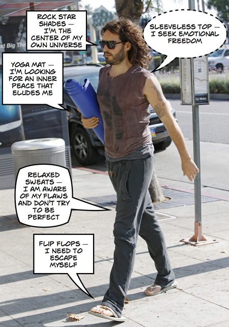 Russell Brand: The egocentric seeker